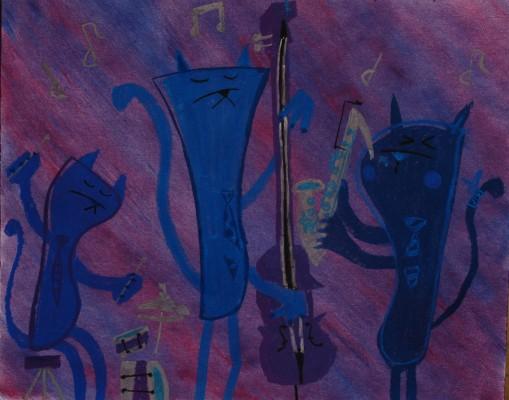 Blues Cats